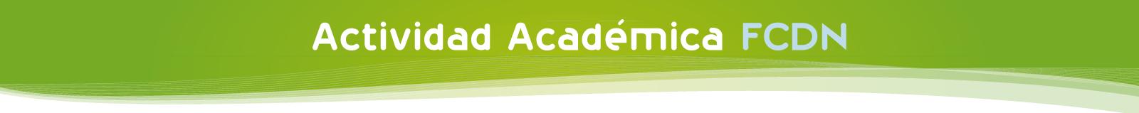 Actividad Academica FCDN