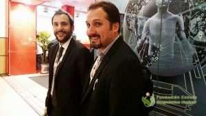 Dres. Gabriel Bruno y Nicolás Bustos presentaron un Trabajo Científico que prepararon en conjunto con Christian González, Sonia Traverso y Amilcar Osorio de la Fundación Centro Diagnóstico Nuclear.