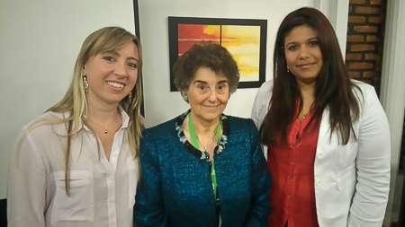 Vanesa Sanz, Caridad Borras y Maryangel Medina.
