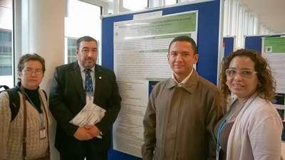 El Dr. Roberto Aguero (FCDN) junto a los representante de Nicaragua, Venezuela y Panamá.