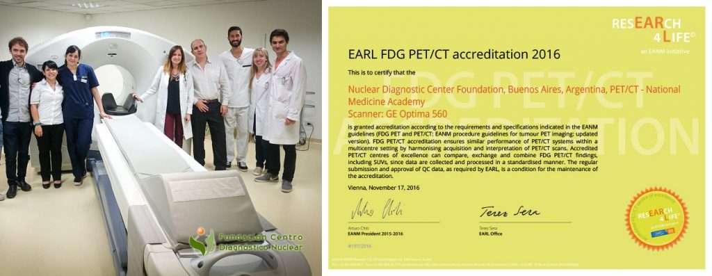 Acreditación EARL para la FCDN