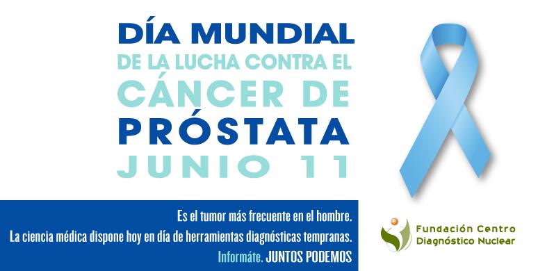 Dia Mundial de la Lucha contra el Cáncer de Próstata 2017 FCDN