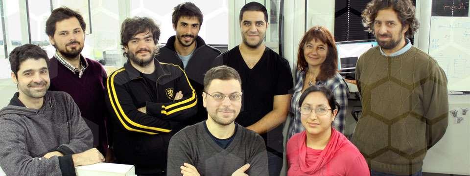 Investigadores del grupo de Bioinformática del Instituto Leloir liderado por los doctores Cristina Marino-Buslje y Ariel Chernomoretz.
