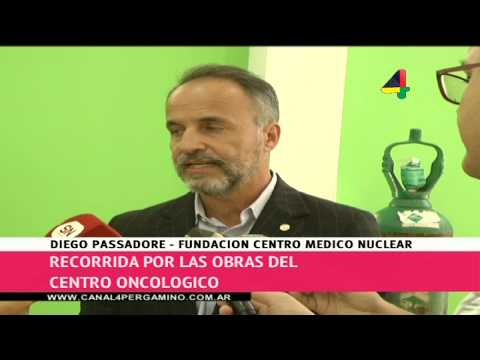 Recorrida por las obras del centro oncológico Pergamino - Parte 1