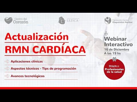 Webinar: Actualización RMN Cardíaca