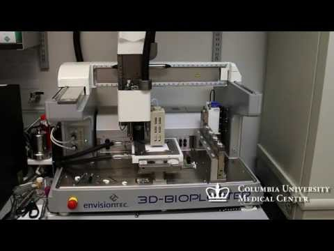 3D printing of a knee meniscus scaffold