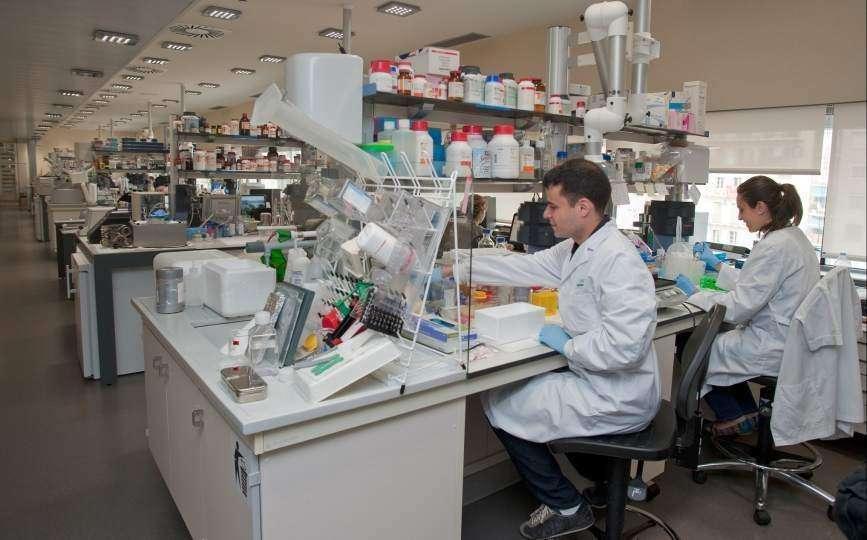 Laboratorio del Hospital Clínic de Barcelona