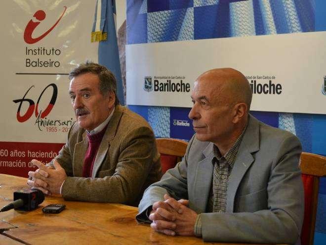 O. Fernández y E. Lopasso (Crédito Prensa Instituto Balseiro)