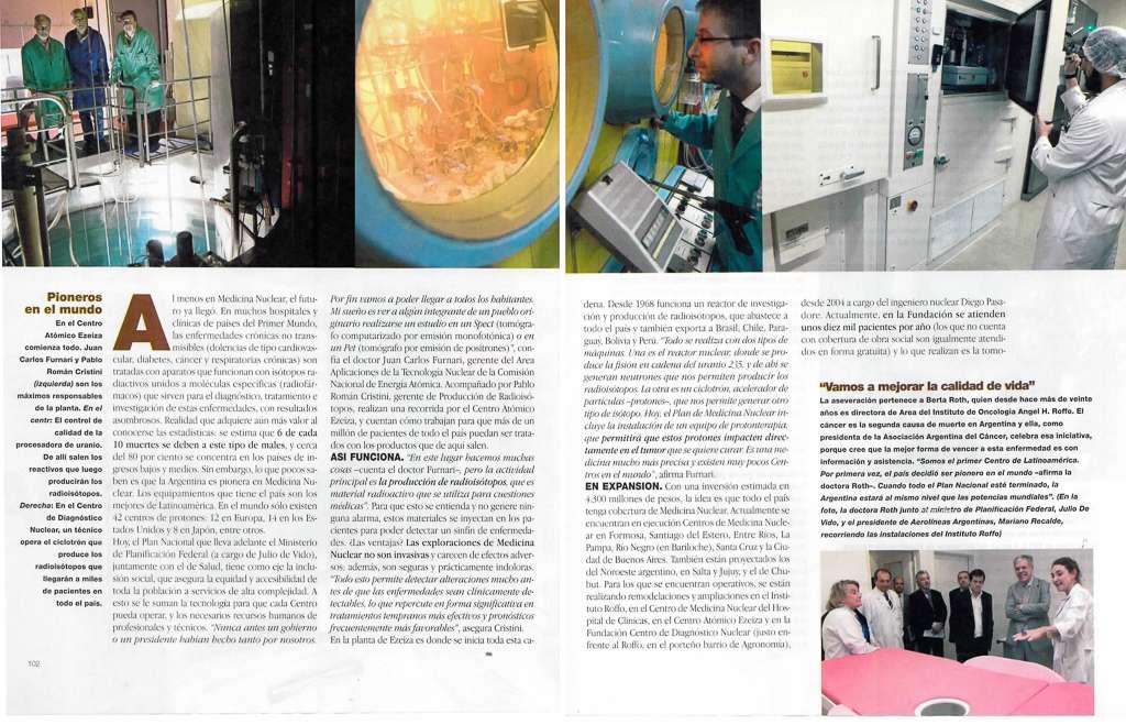 FCDN en Revista GENTE