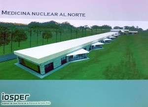El Centro de Medicina Nuclear y Molecular de Oro Verde se encuentra en su etapa final de construcción