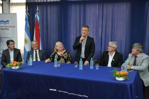 Se firmó el acta de conformación de la Fundación Centro de Medicina Nuclear y Molecular Entre Ríos