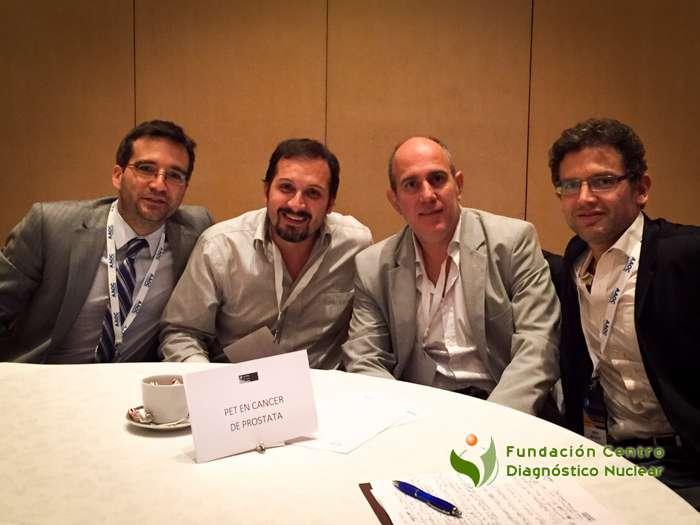 (de izq a der) Dres. Lisandro Paganini, Christian González, Gabriel Bruno y Zenón Beguelin