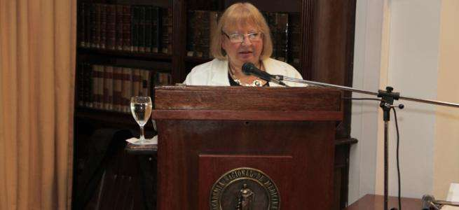 Lic. Norma Boero, Presidenta de la Comisión Nacional de Energía Atómica (CNEA)