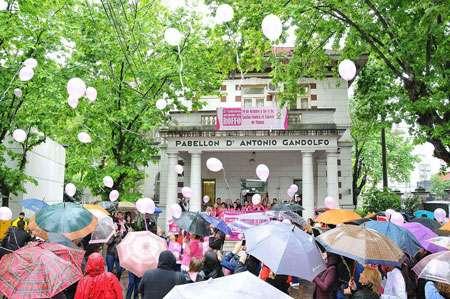 Caminata contra el cáncer de mama del Instituto Roffo