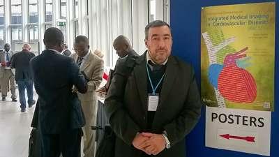 Dr. Roberto Agüero, integrante del cuerpo médico de la FCDN