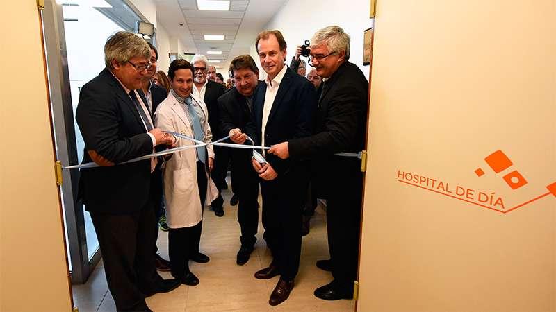 inauguración del hospital de día oncológico del Centro de Medicina Nuclear CEMENER