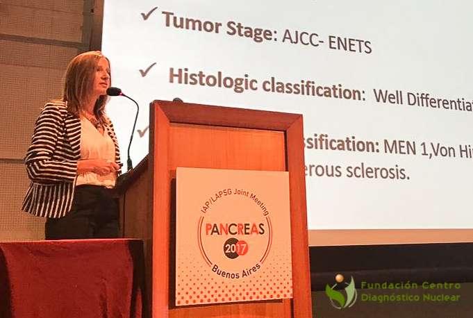 Sonia Traverso en Mundial de Pancreas 2017