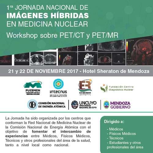 2017-10-27 Primera Jornada Nacional de Imágenes Híbridas en Medicina Nuclear