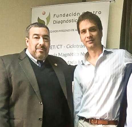 El Dr. Roberto Agüero, integrante del cuerpo médico de la Fundación Centro Diagnóstico Nuclear (FCDN), fué designado Presidente del distrito Conurbano Oeste de la Sociedad Argentina de Cardiología (SAC) y el Dr. LucianoDe Stéfano como Secretario Científico.