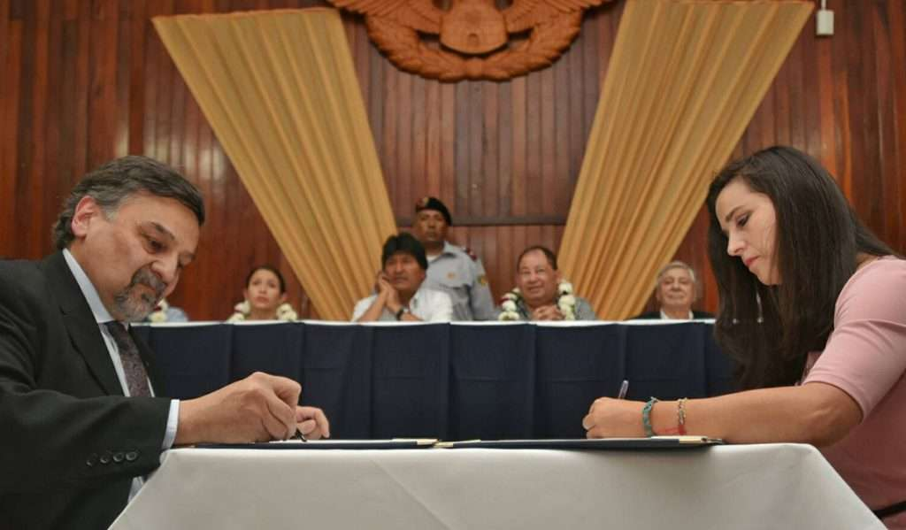 INVAP firmó un contrato para crear una Red de Centros de Medicina Nuclear y Radioterapia en Bolivia