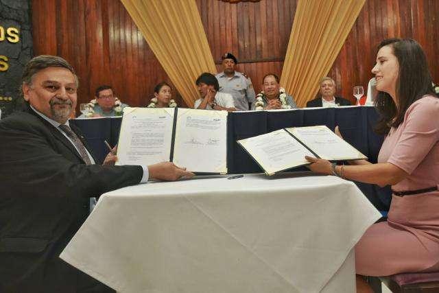 Firma Convenio INVAP Agencia Boliviana de Energía Nuclear (ABEN)
