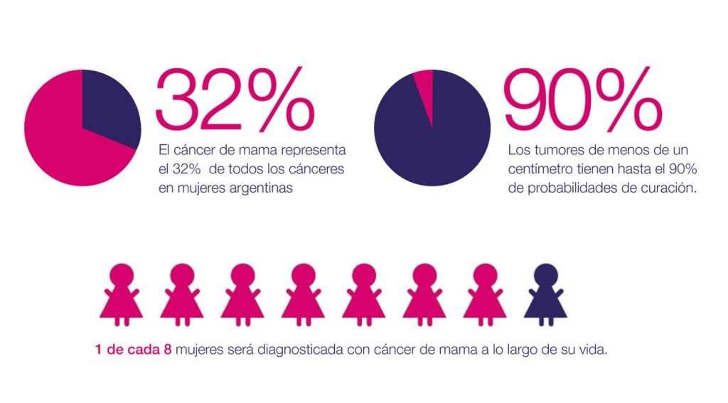 Fuente: Programa Nacional de Cáncer de Mama, Instituto Nacional del Cáncer.