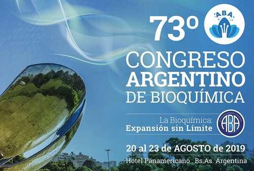 Tendrá lugar en el Hotel Panamericano de la Ciudad Autónoma de Buenos Aires, entre el 20 y el 23 de agosto de 2019, organizado por la Asociación Bioquímica Argentina y presidido por la Dra. Mónica Aixalá, quien dirige el Laboratorio de Análisis Clínicos de la FCDN