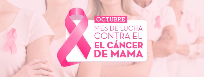 Octubre Rosa – mes de lucha contra el Cáncer de Mama