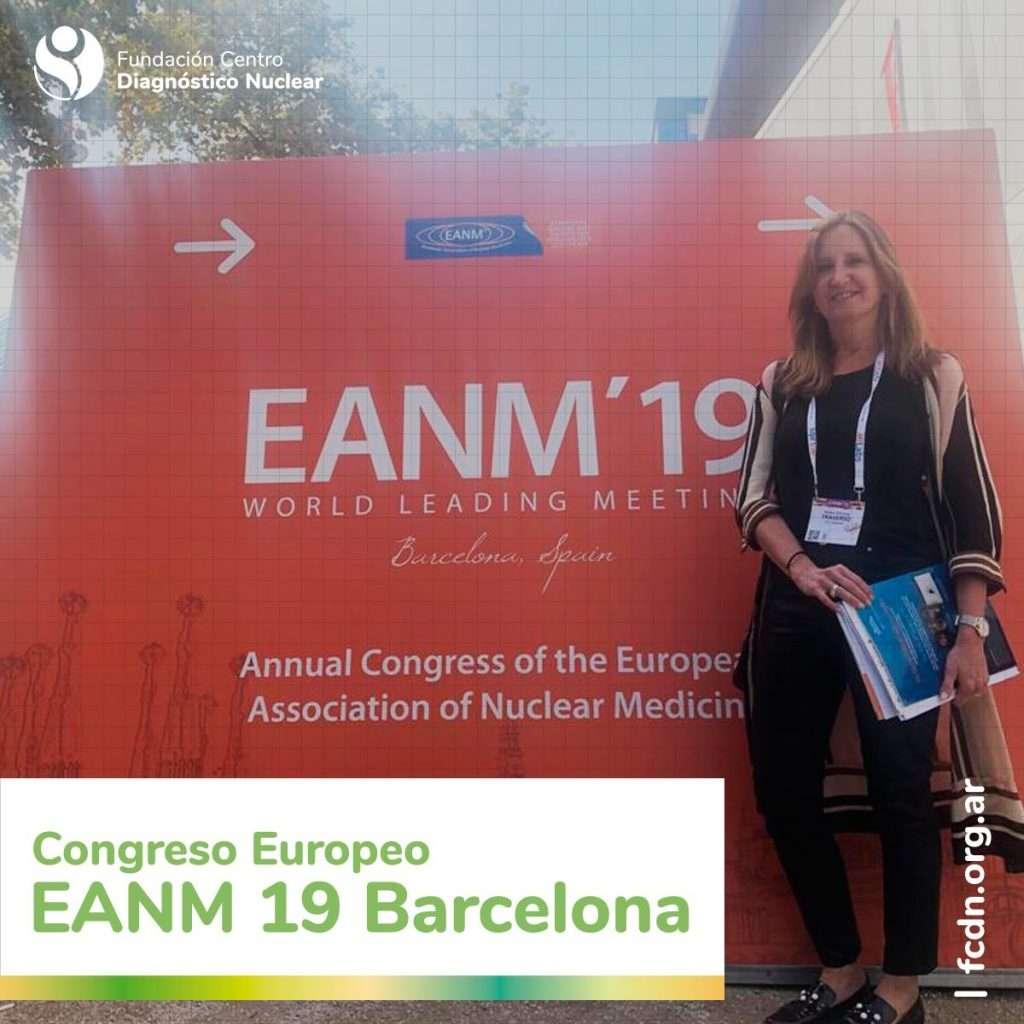 Congreso europeo de Medicina Nuclear - EANM 19 Barcelona
