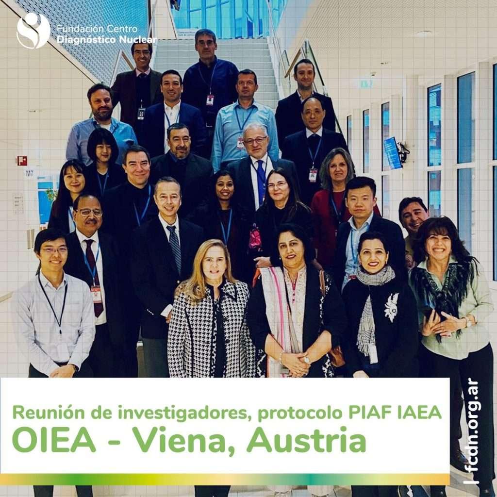 Reunión de coordinación de investigadores, protocolo PIAF IAEA