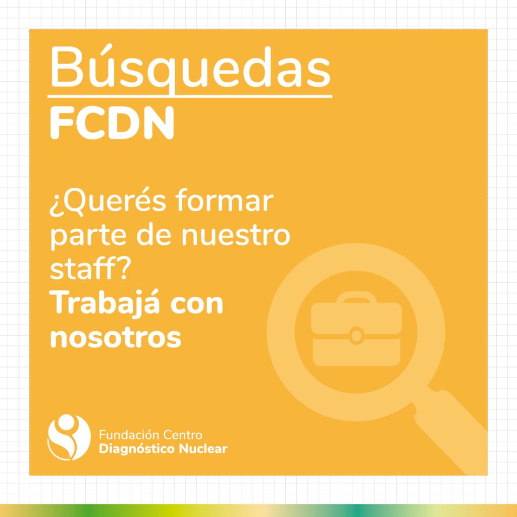 Búsqueda laboral FCDN