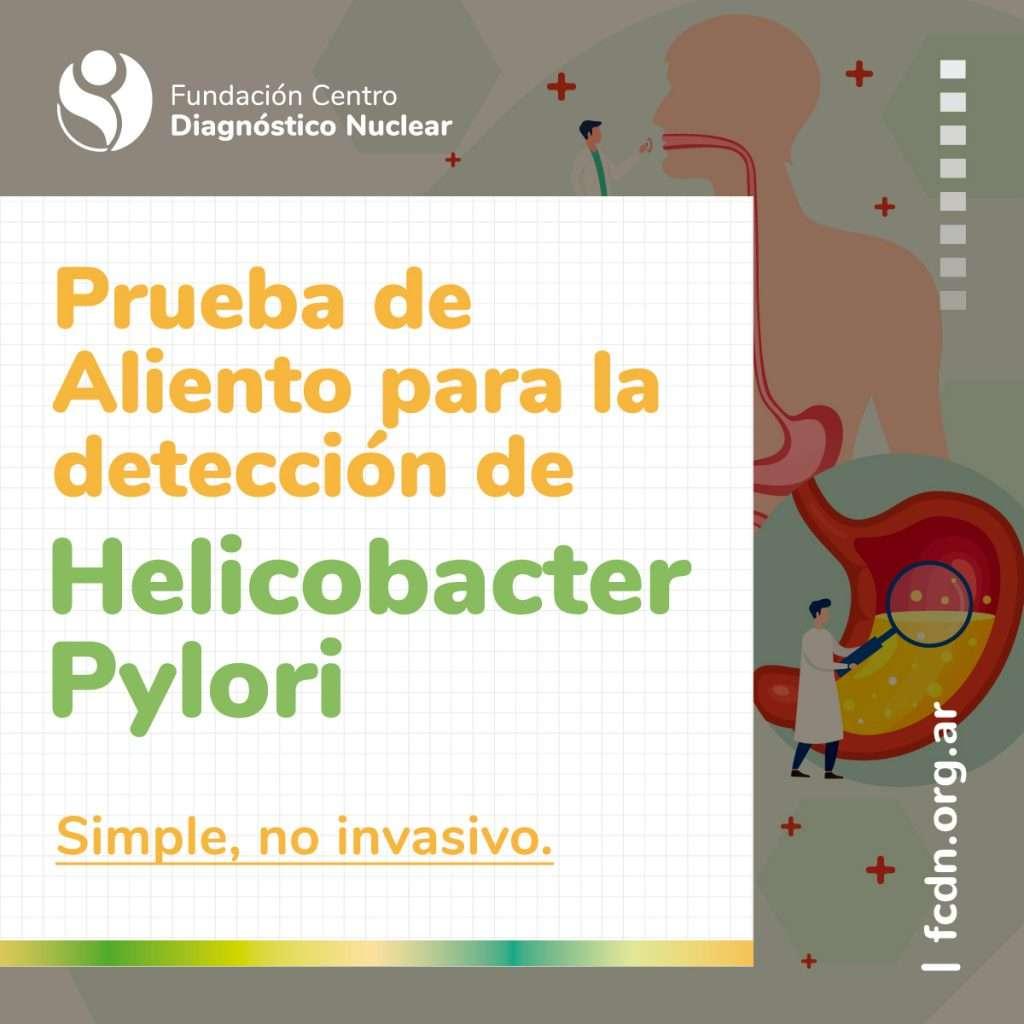 Prueba de aliento para la detección de Helicobacter Pylori (Test del Aire Espirado)
