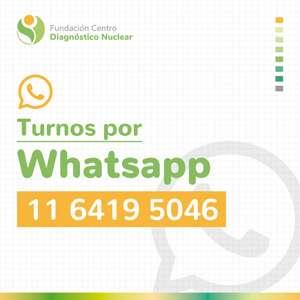 ¿Ya agendaste nuestro número de whatsapp? Escribinos y solicitá tus turnos de manera fácil y sencilla. 11 6419 5046
