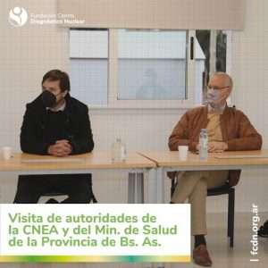 Visita del Ministro de Salud de la provincia de Buenos Aires a la FCDN.