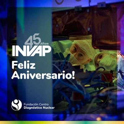 INVAP cumplió 45 años